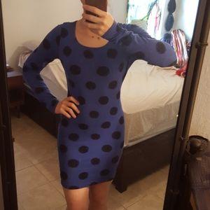 Mini fitted longsleeve dress